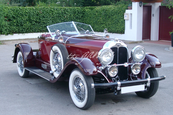 Auburn 8-115 Boattail - Año 1928 - Categoria Evento Diamond