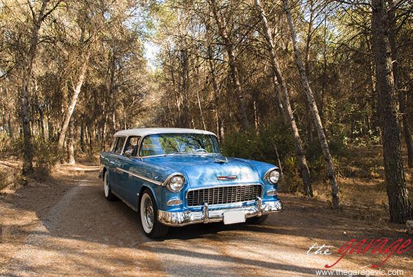 Chevrolet Bel Air Nomad - Año 1955 - Categoria Boda Platinum